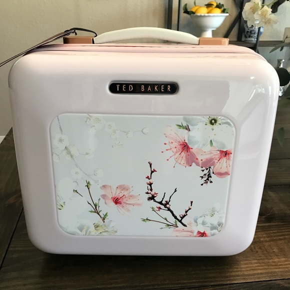 3ec74cdc038302 Ted Baker Oriental Blossom Vanity Travel Case